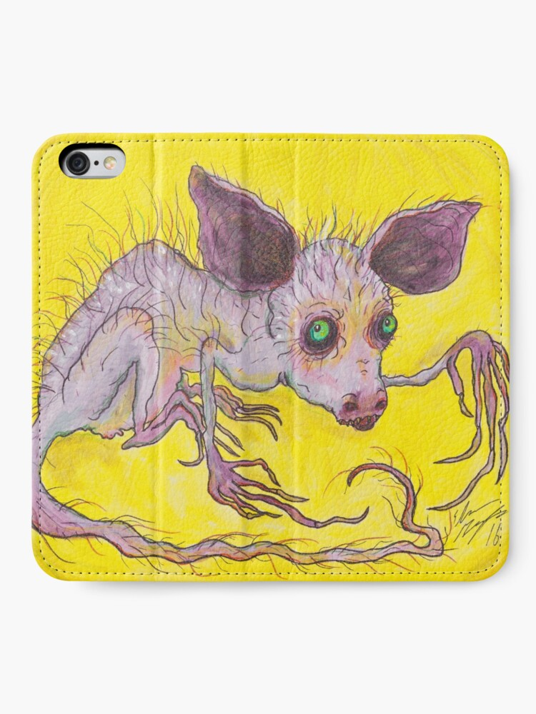 Alternate view of Aye-Aye iPhone Wallet