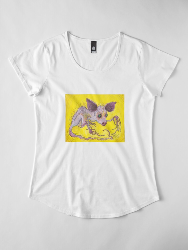 Alternate view of Aye-Aye Premium Scoop T-Shirt
