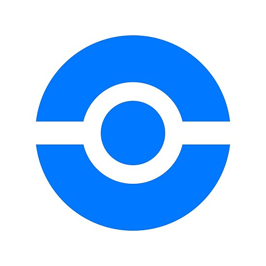 Pokeball Icon Blue Posters By Cluper Redbubble
