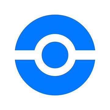 Pokeball Icon Blue by cluper