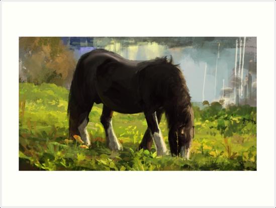 Horse by Joel Pigou