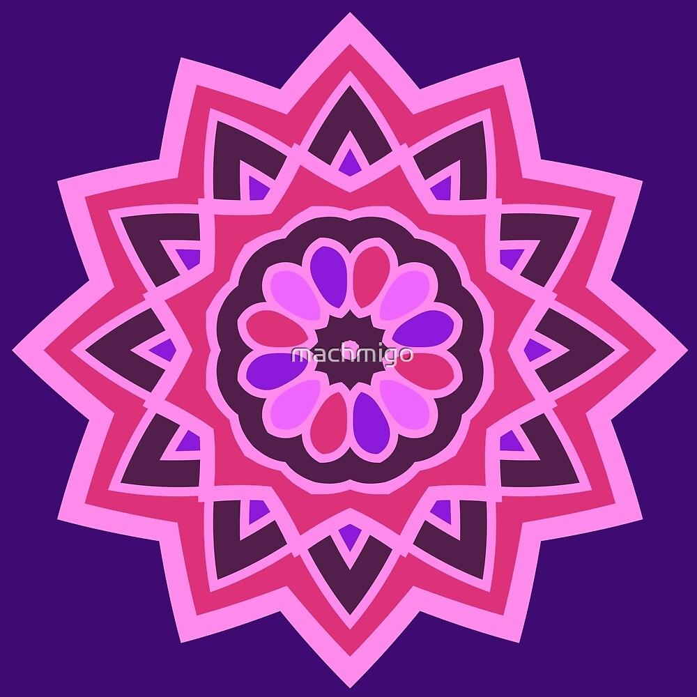Far Out Mandala by machmigo
