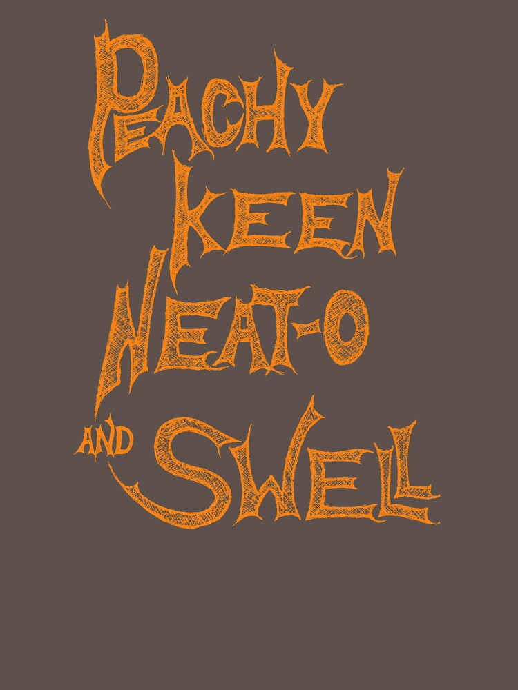 Peachy, Keen, Neat-o, and Swell! -- Peach(ish) by Proven-Jester