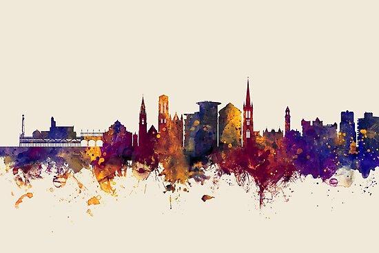 Bournemouth England Skyline by Michael Tompsett