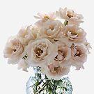 Pink Rose Posy by Ann Garrett