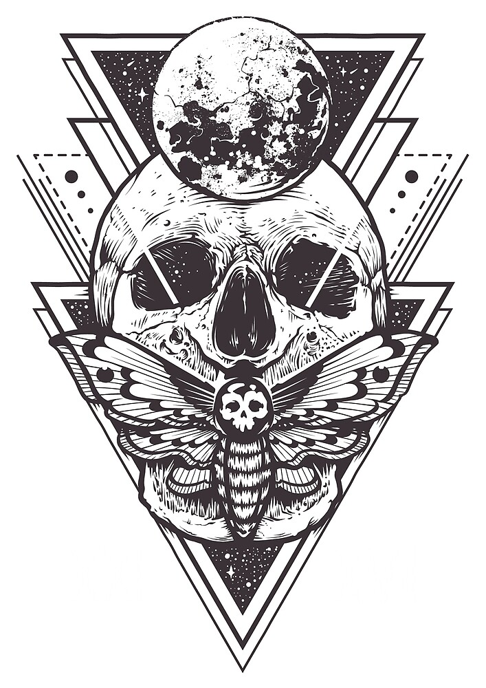 Skull by Yassir Gourch