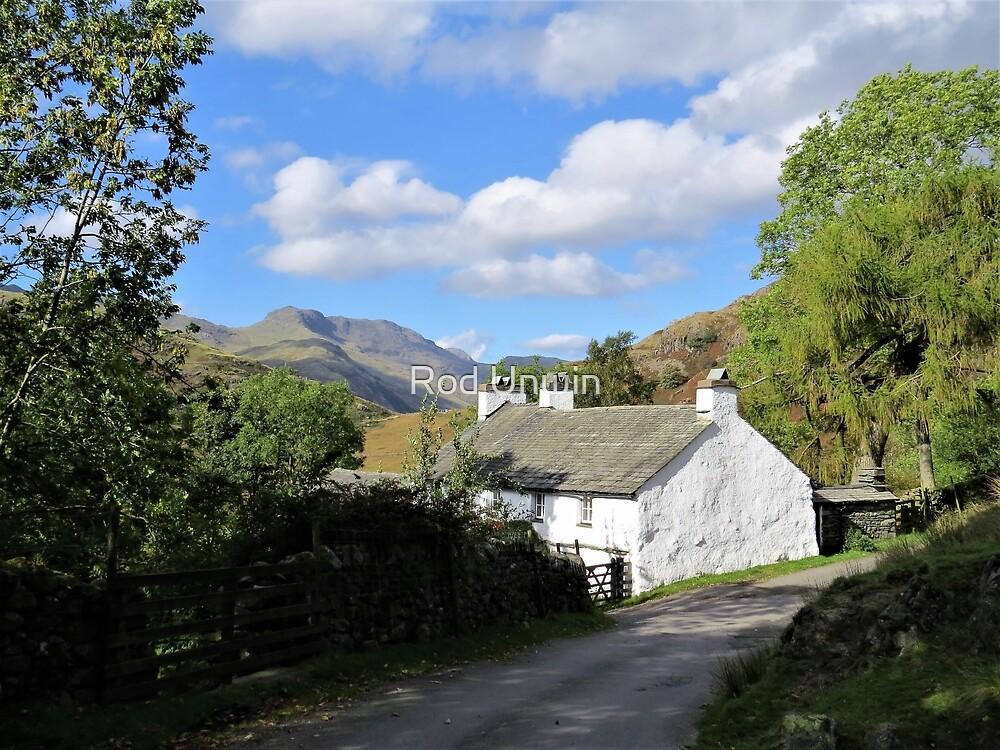 Cottage Near Blea Tarn, Lake District by Rod Unwin