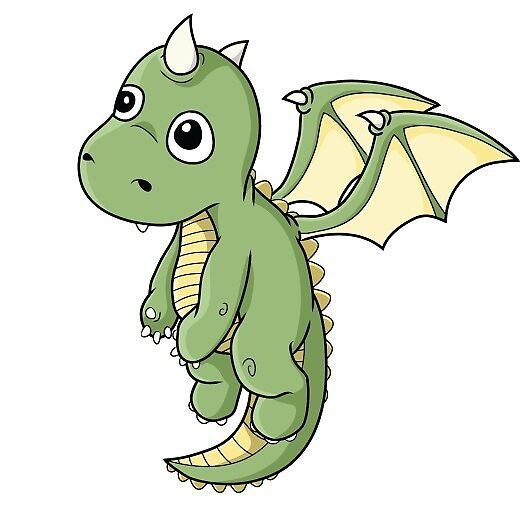 Cute Dragon by AnUnseenGod