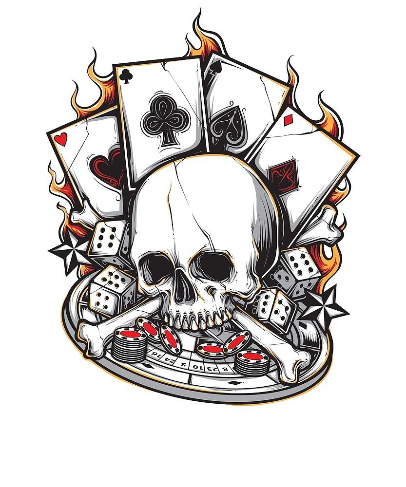 Gambler gambler player by bonehunter86