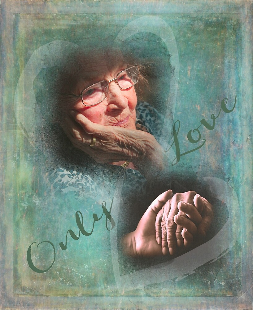 Hands know the language of love by Cathryn Wellner