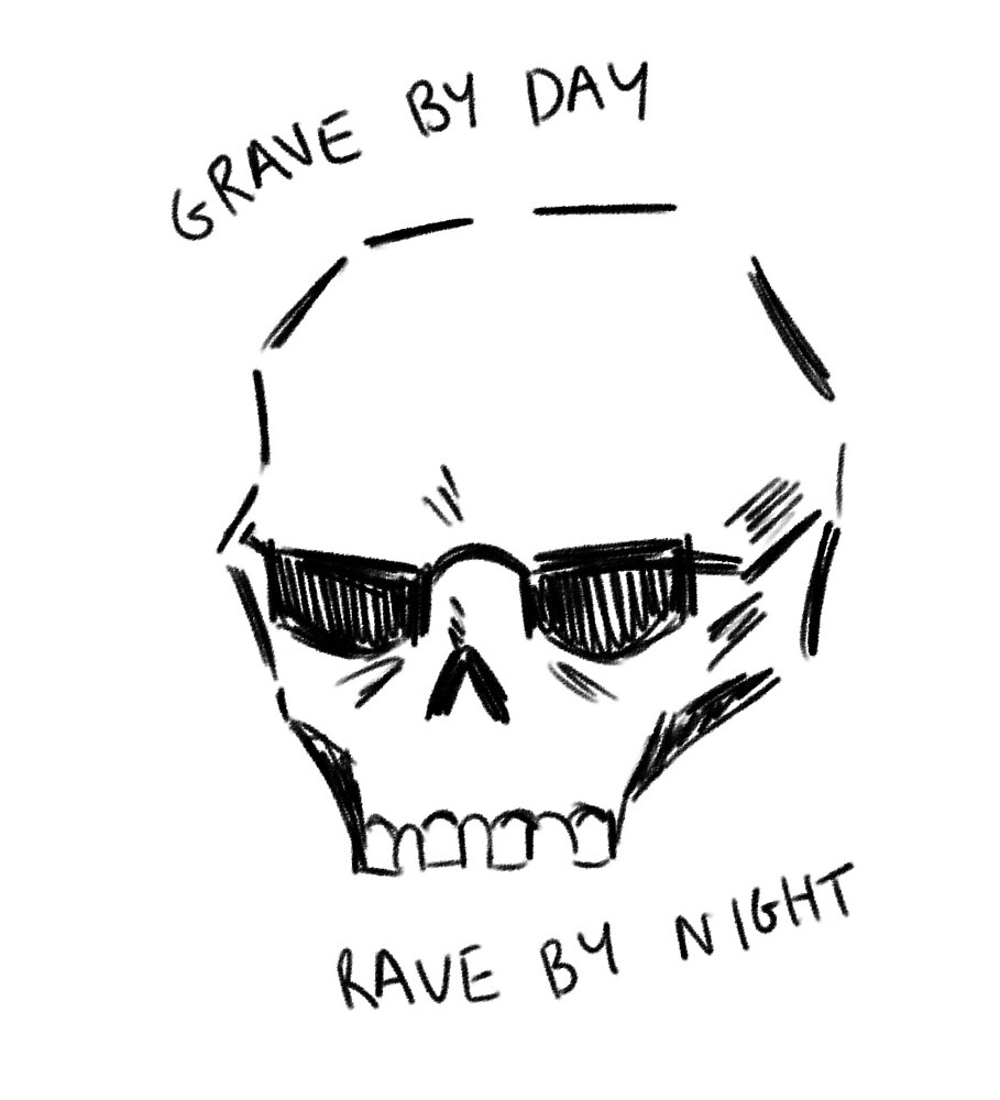 grave by day by Fox-gloves