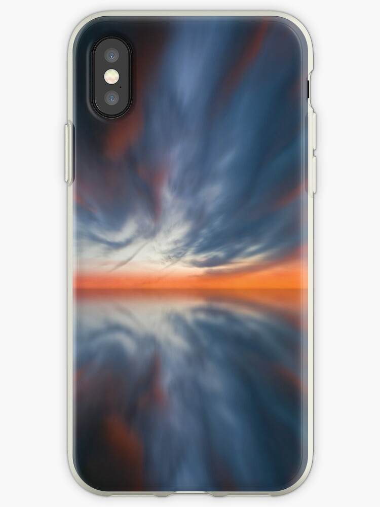 Sunset sky panorama iphone case by kasearnold