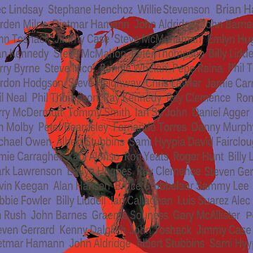 Anfield greats liver birds by Hallmm