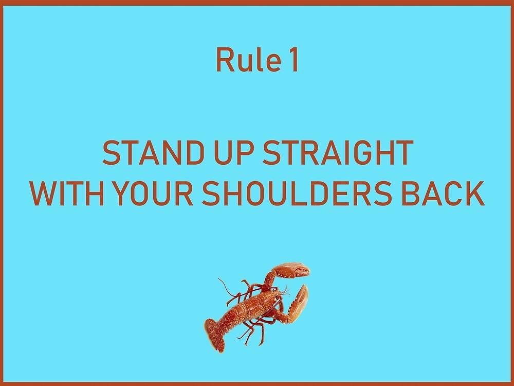 Jordan B Peterson 12 rules for life rule 1 by malikheadley