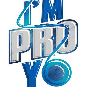 I'm Pro Yo Yoyo Tricks Enthusiast Gaming T-Shirt by mujhanyzek