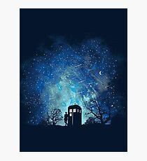 Doctor Who Lovers Photographic Print