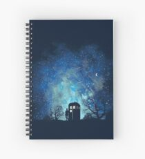Doctor Who Lovers Spiral Notebook