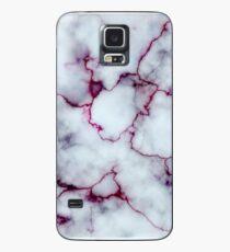 Blutiger Marmor Hülle & Klebefolie für Samsung Galaxy