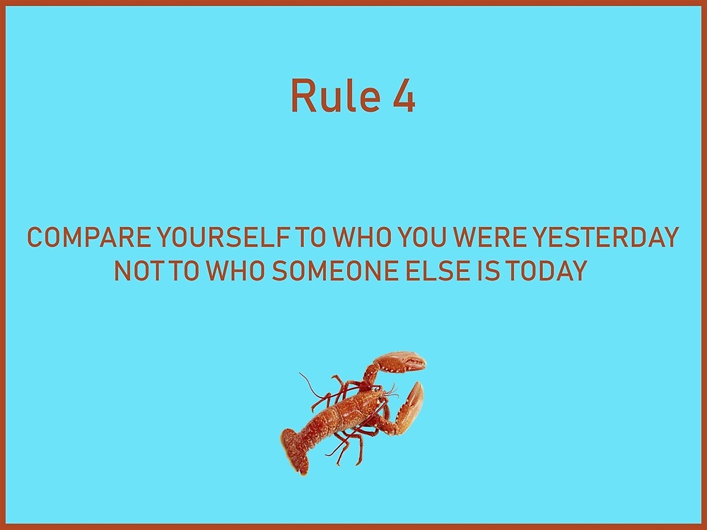 Jordan B Peterson 12 rules for life rule 4 by malikheadley