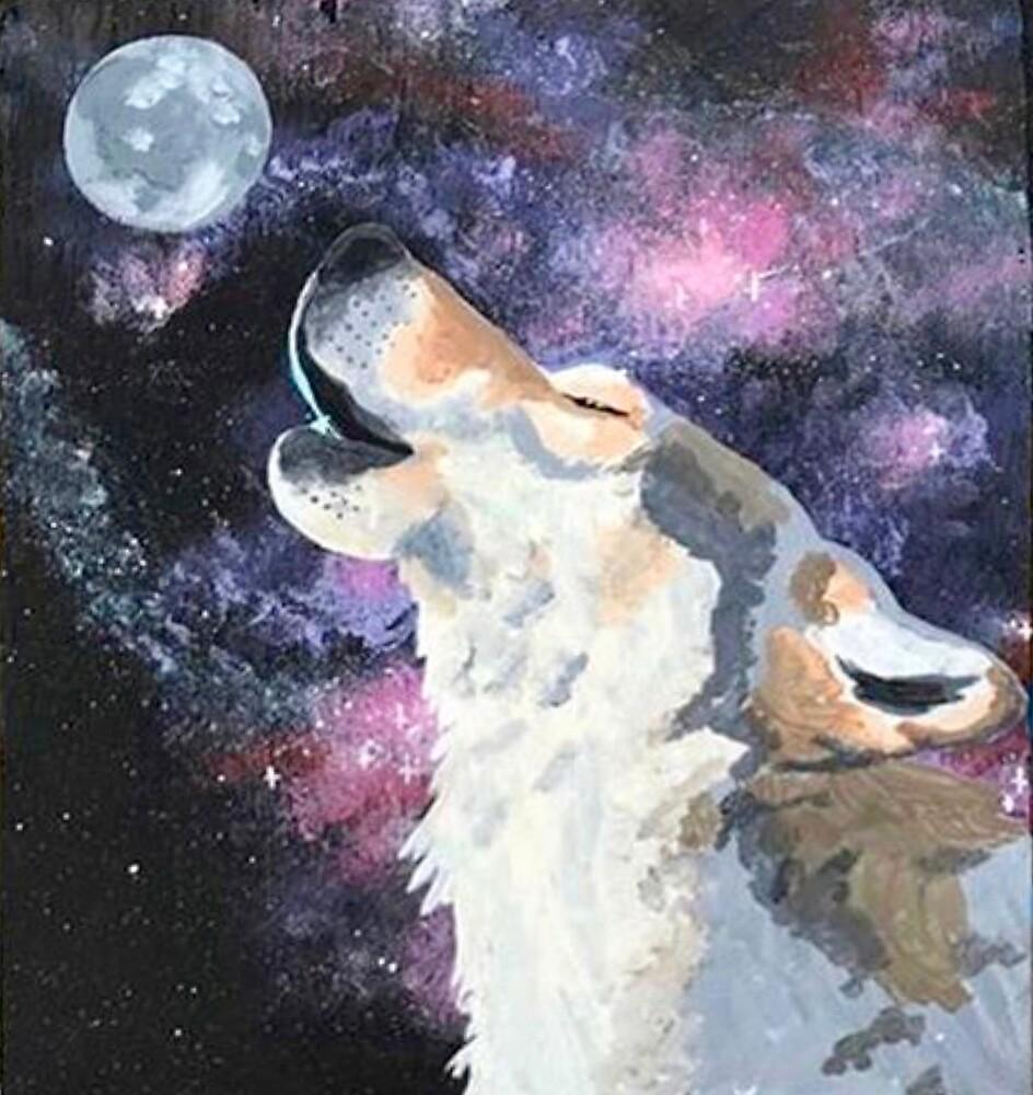 Night Wolf by ivoxus