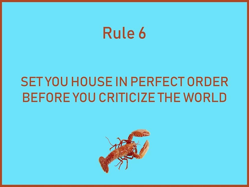 Jordan B Peterson 12 rules for life rule 6 by malikheadley