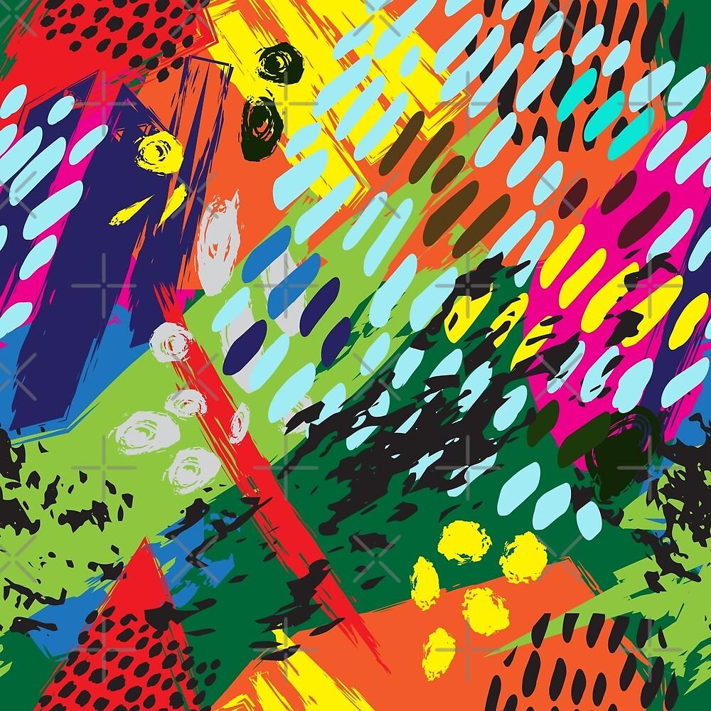 Bright abstract pattern by RitaKo