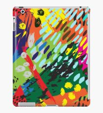 Bright abstract pattern iPad Case/Skin