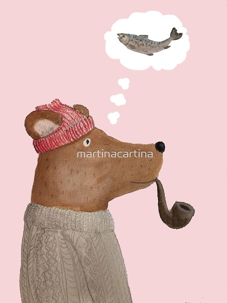 Let's go fishin', Bear! by martinacartina