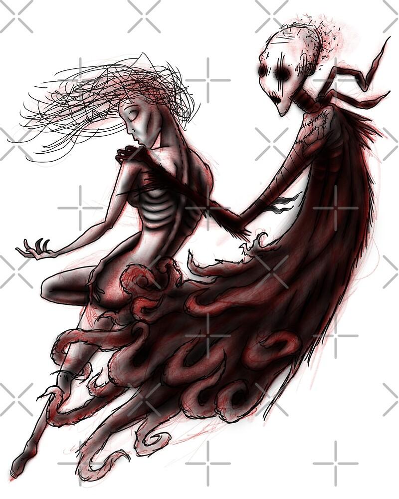 Girl & Dementor by CJOrazi