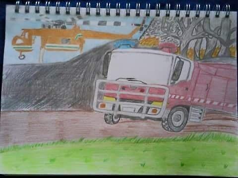 Bushfire by Shamus Clayton