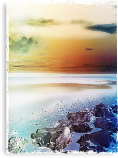 Crosby Beach by Melanie Evans