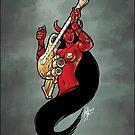 Double-Barreled Guitar 003 censored by Ian Sokoliwski