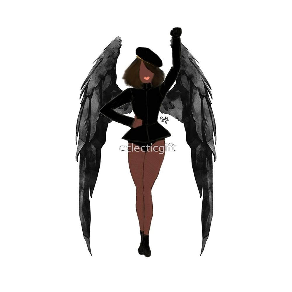 Stay woke angel noir #2 by eclecticgift