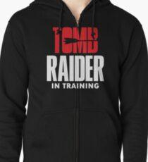 Raider in Training Tombs  Zipped Hoodie