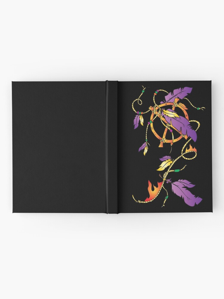 Alternate view of Feather Dream Wheel Hardcover Journal