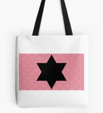 Simple but beautiful design with black star Tote Bag