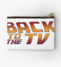Back To The TV Studio Pouch