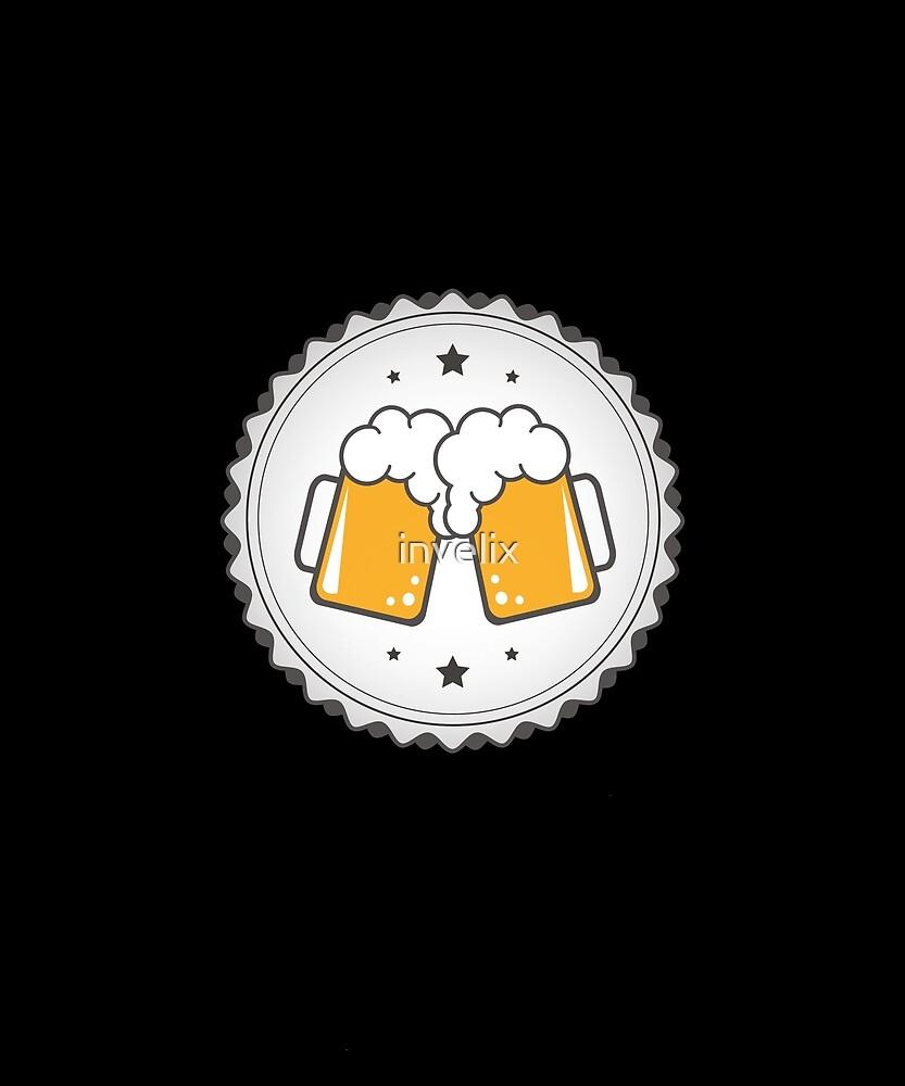 cheers beer design beer shirt tshirt sticker hoodie mug bag by invelix