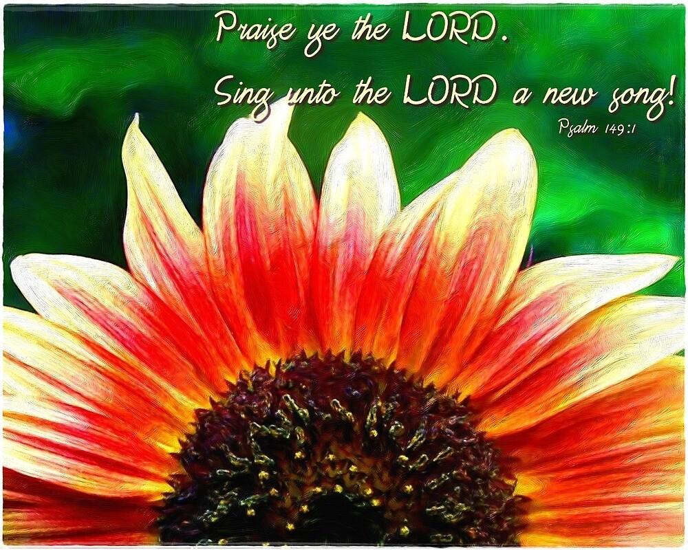 Psalm 149:1 by romans12designs