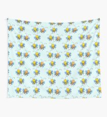 Cute Bees Wall Tapestry