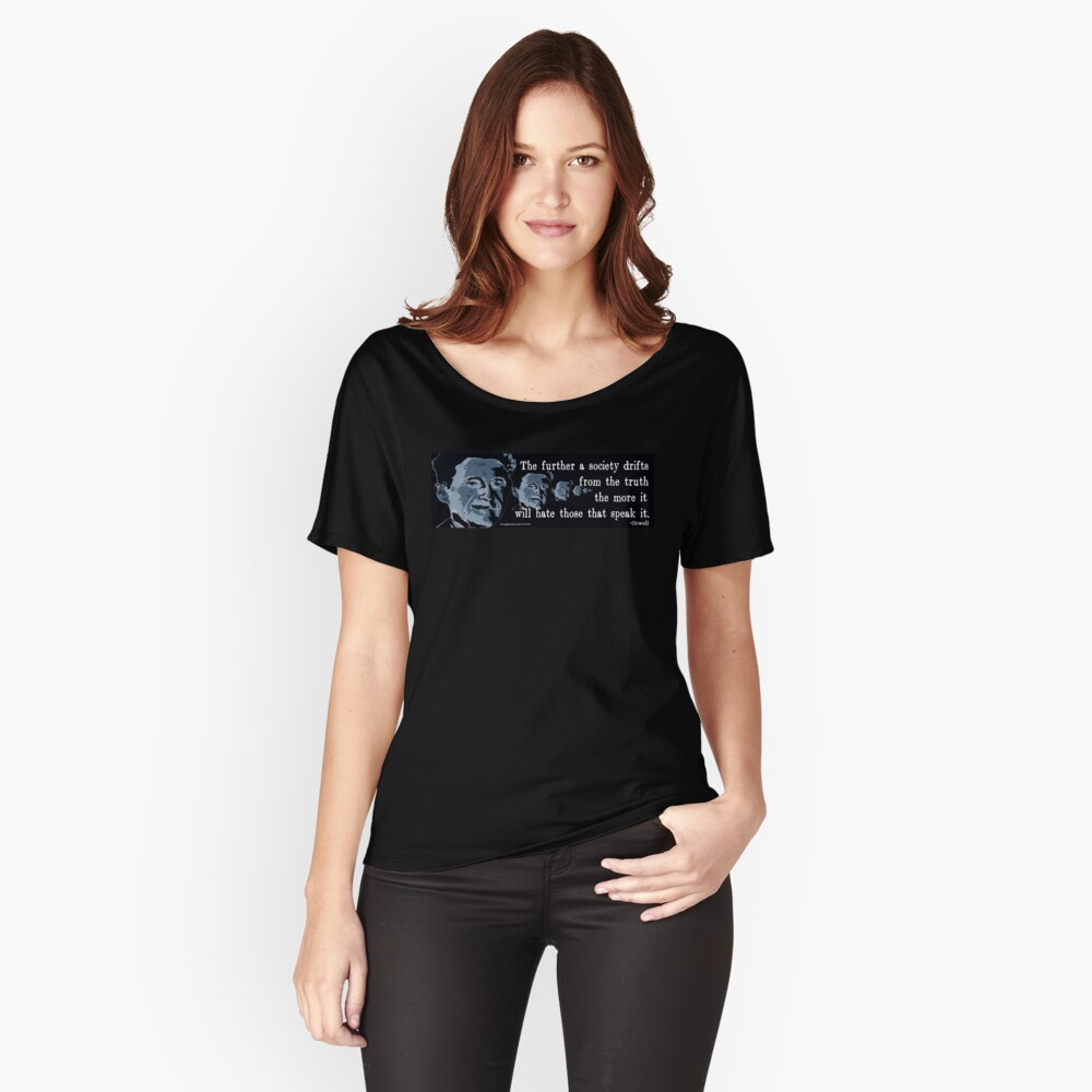 The Truth Women's Relaxed Fit T-Shirt Front