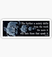 The Truth Glossy Sticker