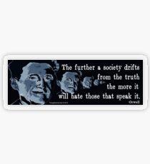 The Truth Transparent Sticker