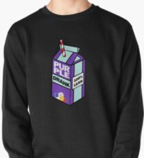 Purple drank bottle / brick Pullover