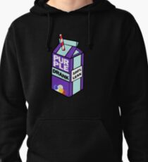 Purple drank bottle / brick Pullover Hoodie