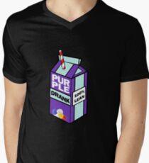 Purple drank bottle / brick Men's V-Neck T-Shirt