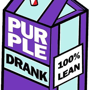 Purple drank bottle / brick by flowing