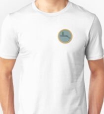 Portal Gun Merit Badge Unisex T-Shirt