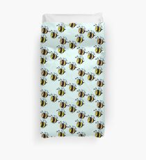 Chubby Bees Duvet Cover