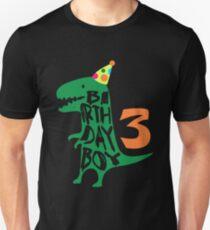 Dinosaur Birthday Boy 3 T Shirt